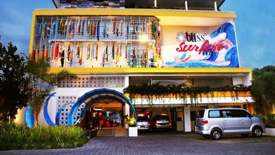 Bliss Surfer Legian Hotel